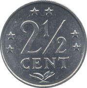 2½ Cents - Juliana / Beatrix – reverse