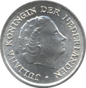 1/10 Gulden - Juliana -  obverse