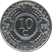 10 Cents - Beatrix / Willem -  reverse
