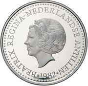 50 Gulden - Beatrix (Diplomatic relations with the USA) – obverse