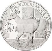 25 Gulden - Beatrix (World Wildlife Fund) – reverse