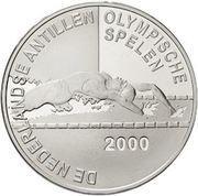 25 Gulden - Beatrix (2000 Summer Olympics) – reverse