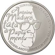 5 Gulden - Beatrix (100th anniversary of Antoine Maduro) – reverse