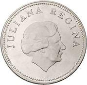 10 Gulden - Juliana (Bank of Netherlands Antilles) – obverse