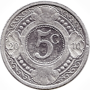 5 Cents - Beatrix / Willem-Alexander – reverse
