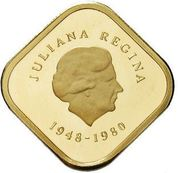 300 Gulden - Juliana (Abdication) – obverse