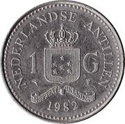 1 Gulden - Beatrix – reverse