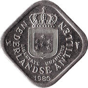 5 Cents - Juliana / Beatrix -  obverse