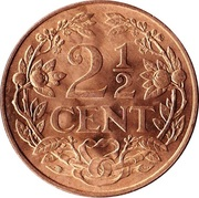 2½ Cents - Juliana – reverse