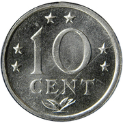 10 Cents - Juliana / Beatrix -  reverse