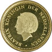 1 Gulden - Beatrix -  obverse