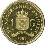 1 Gulden - Beatrix -  reverse