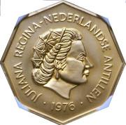 200 Gulden - Juliana (US Bicentennial) – obverse