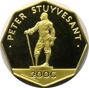 200 Gulden - Juliana (Peter Stuyvesant) – reverse