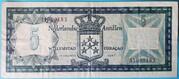 5 Gulden – reverse
