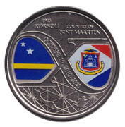 5 Gulden (10 years of structural reforms) – obverse