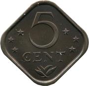 5 Cents - Juliana / Beatrix – reverse