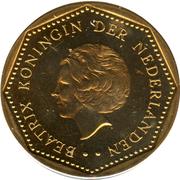 5 Gulden - Beatrix – obverse