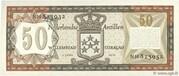 50 Gulden – reverse