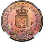 2½ Cents - Juliana (Pattern) – obverse