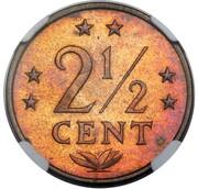 2½ Cents - Juliana (Pattern) – reverse
