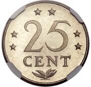 25 Cents - Juliana (Pattern) – reverse