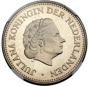 1 Gulden - Juliana (Pattern) – obverse
