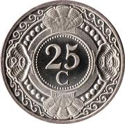 25 Cents - Beatrix / Willem – reverse