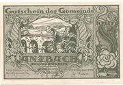 20 Heller (Anzbach) – obverse