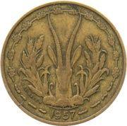 10 Francs Togo – obverse