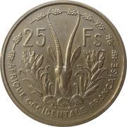25 Francs -  reverse