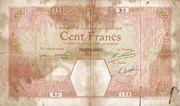 100 Francs (Porto-Novo) -  obverse