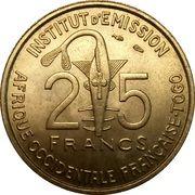 25 Francs Togo – obverse