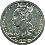 1 Franc (Essai) – obverse