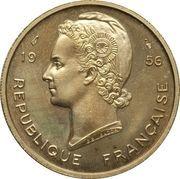 25 Francs (Essai) – obverse