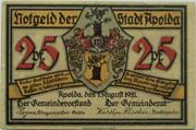 25 Pfennig (Silhouette Series - Issue E) – obverse