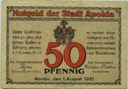 50 Pfennig (Rhyme Series - Issue D) – obverse
