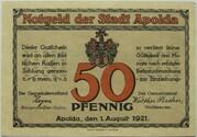 50 Pfennig (Rhyme Series - Issue C) – obverse