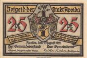 25 Pfennig (Silhouette Series - Issue D) – obverse