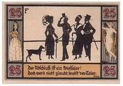 25 Pfennig (Silhouette Series - Issue F) – reverse