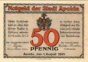 50 Pfennig (Rhyme Series - Issue E) – obverse