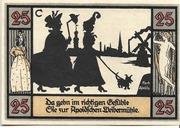 25 Pfennig (Silhouette Series - Issue C) – reverse