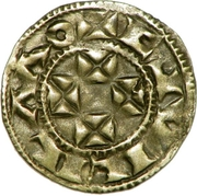 Denier - Guillaume X – obverse