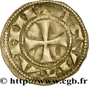 "Denier - Richard I ""the Lionheart"" – reverse"