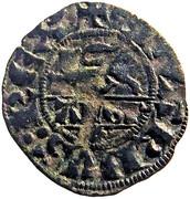 Denier au léopard ( 2 ème type ) pour Édouard  III d'Angleterre – obverse