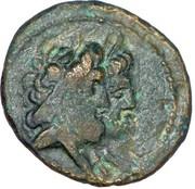 Dichalkos (Zeus and Hera, Athena over galley prow) – obverse