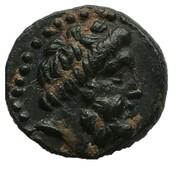Dichalkos (Zeus, prow of galley) – obverse