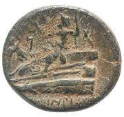 Æ20 (Poseidon on aphlaston) – reverse
