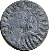 Dinero - Pedro IV (Zaragoza) – obverse