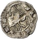 Dinero - Alfonso II (Jaca) – obverse